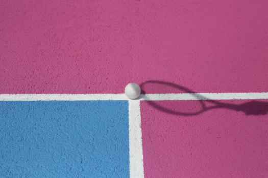 Pink & Blue Court