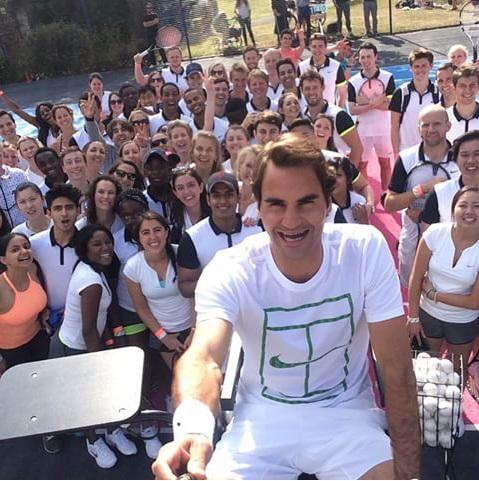 Selfie Federer